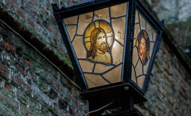 Jesus - stained glass