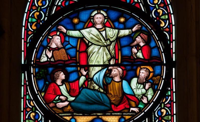 Jesus - window