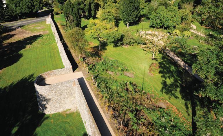 City Walls & Bishop's Palace Gardens