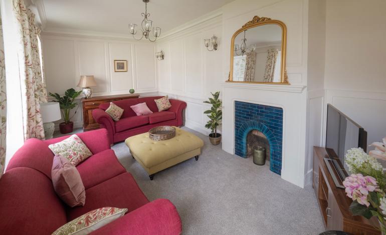 Living Room at 2 St Faiths