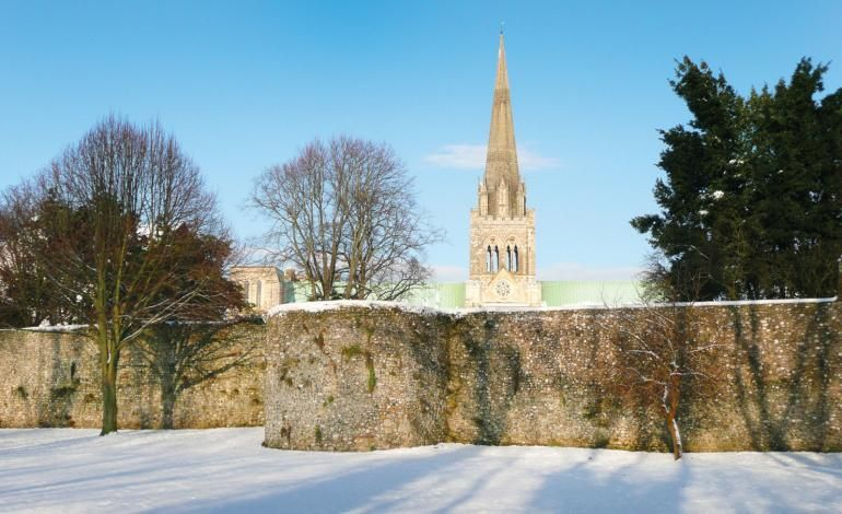 City Walls in the snow