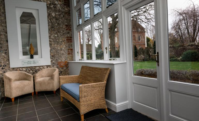 Conservatory with view to Garden at 4 Canon Lane