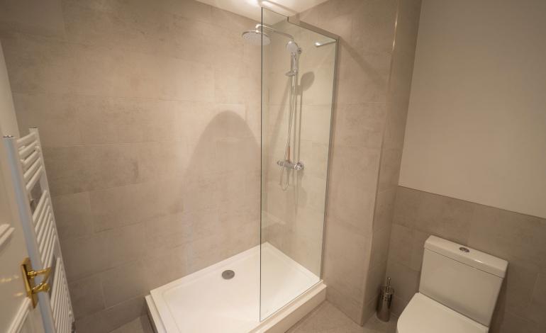 Shower Room at 2 St Faiths