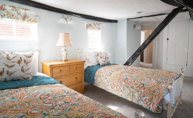 Twin Bedroom at 2 St Faiths